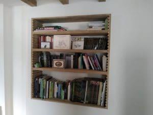 agencement intérieur bibliothèque SillageBoisMetal